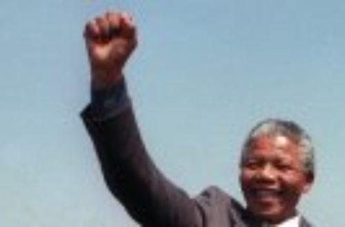 Article : Nelson Mandela, l'icône est passée de l'autre coté …